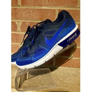 Nike Air Max Mens Blue Running Shoes Size 8.5/42